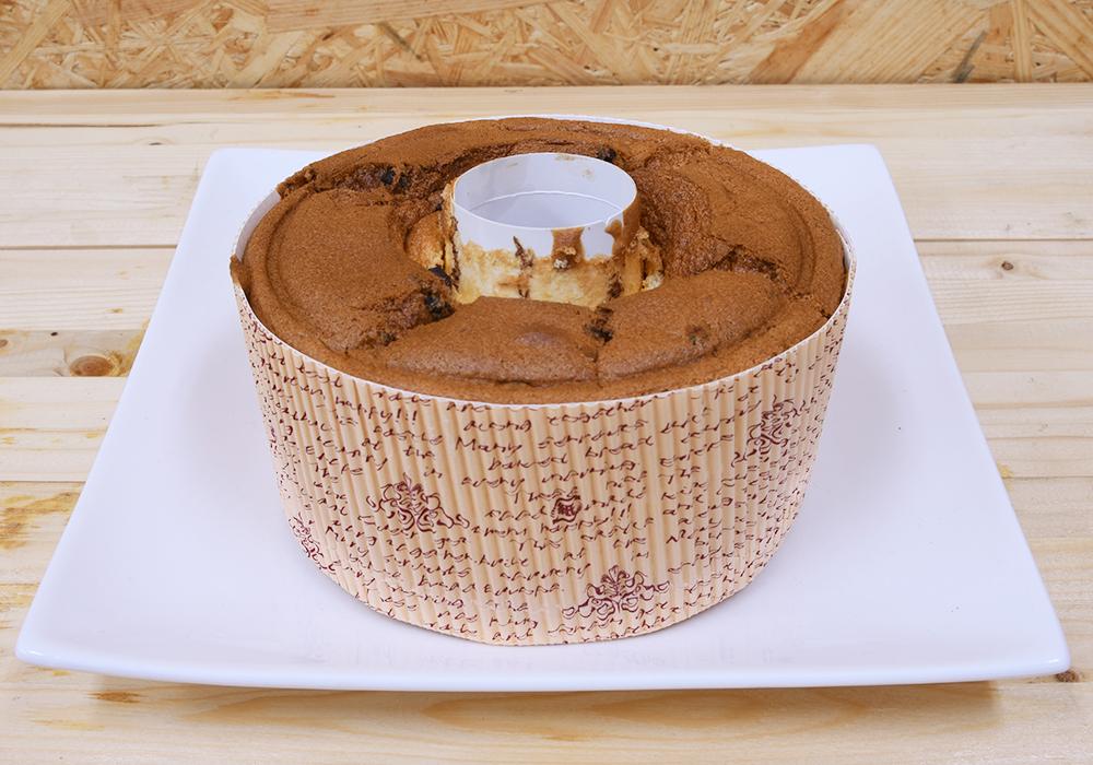 シフォンケーキチョコバナナのホール